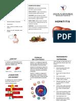Hepatitis Triptico