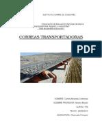 Correa Transportadora Fija
