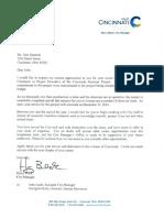 Deatrick letter