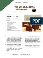 Brownie de Chocolate Al Microondas CEN Hoja1