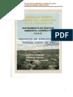 2014 Re-igac- Minera de Cerro de Oro