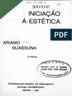 SUASSUNA, Ariano - Iniciação à Estética.