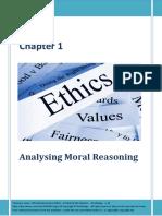 Analysing Moral Reasoning