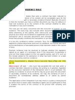 The Parole Evidence Rule.docx1