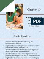 Entrepreneurship - Slides - Getting Funding or Financing - Lesson 7