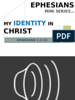 My Identity in Christ Part 1