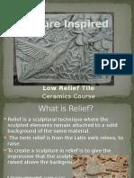 relief tile presentation