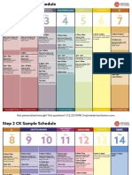 Sample Step 2 Study Schedule