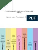 Taller Didácticas Para La Paz en Media Básica