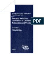 Satish C. Kalhan, Andrew M. Prentice, Chittaranjan S. Yajnik-Emerging Societies - Coexistence of Childhood Malnutrition and Obesity (Nestle Nutrition Workshop Series_ Pediatric Program)-S. Karger AG (