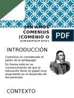 Jan Amós Comenius (Comenio o Komensky)