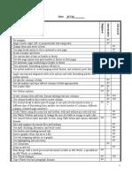checklist module 6