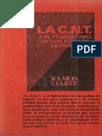 Liarte, Ramón - La CNT Al Servicio Del Pueblo [Producciones Editoriales, 1978]