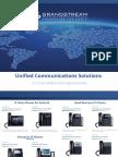 Grandstream All Product Brochure