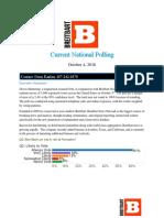 National Poll (October 4, 2016) v3 (1) (1)