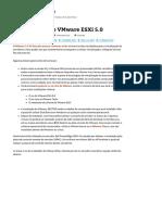 Como Instalar o VMware ESXi 5