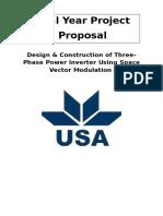 3 phase inverter proposal