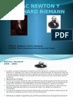 Isaac Newton y Bernhard Riemann