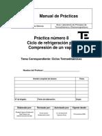 Manual de Practicas - Refrigeracion