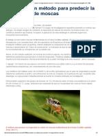 Presentan un método para predecir la longevidad de moscas — Noticias de la Ciencia y la Tecnología (Amazings® _ NCYT®)