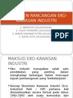 Komponen Rancangan Eko-kawasan Industri( Wardoyo Cs)