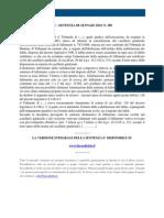 Fisco e Diritto - Corte Di Cassazione n 308 2010