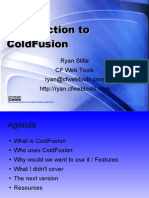 Introduction to ColdFusion