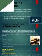 Los Principios Tributarios