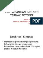 Perkembangan Industri Ternak Potong