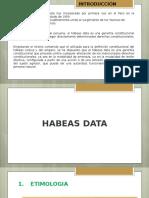 Diapositivas LegislacionI HabesData