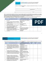 Instrumento de evaluación Favorable CUA 2015