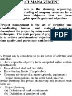 project mgt unit i (b) ppt