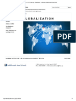 Fleming Globalization