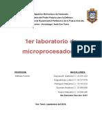 Informe de Microprocesadores