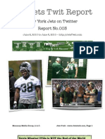 The Jets Twit Report - NO003
