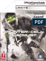 Tom Clancy's Splinter Cell Blacklist (Official Prima Guide)