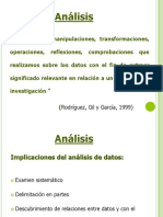 Análisis Cualitativos y Cuantitativos