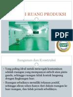 Sanitasi Ruang Produksi