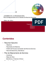 Plantilla ITIL Assessment SLM Inacap