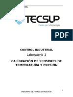 Lab - 1 - Calibración de Sensores de Temperatura - Presión