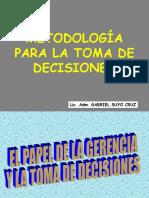 Metodologia Toma-Decisiones V