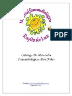 Catalogo Rayito de Luz