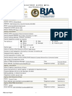 May 2016 Prison Rape Elimination Act (PREA) compliance audit for the Three Rivers Federal Correctional Institution