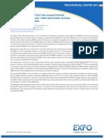 Mediciones PMD FTB5600