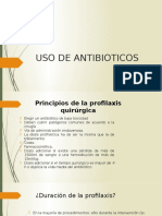 Uso de Antibioticos en cirugia