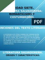 Literatura Salvadoreña
