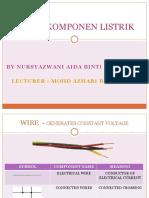 Simbol Komponen Listrik
