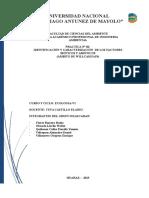 Identificacion y Caracterizacion de Los Factores Bioticos y Abioticos