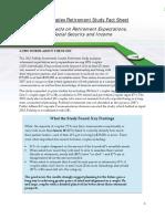 Couples Retirement Fact Sheet