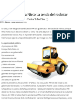 Enrique Peña Nieto La senda del rockstar   Nexos